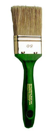 Maler-Flachpinsel, grün, 9. Stärke