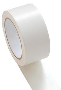 PVC-Klebeband glatt, weiß