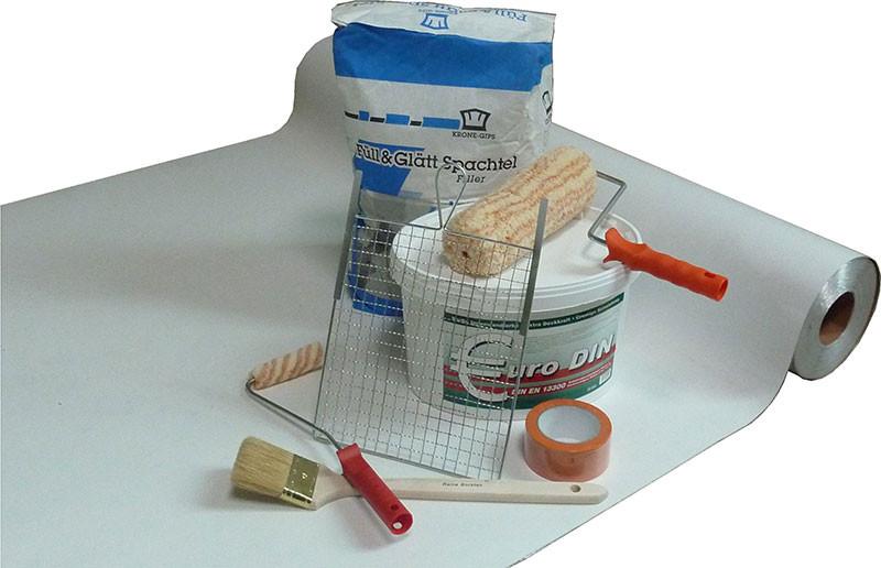Milchtütenpapier, ca. 50 m²