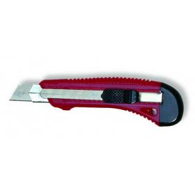 Cuttermesser mit Chromstahlklingenführung, 18 mm