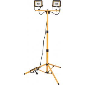 Doppel-Stativ-LED-Strahler, 2x20W, IP65