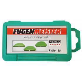 Silikon-Fugenmeister, Radien-Set