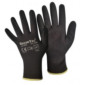 Nylon-Handschuhe mit gesandeter Nitrilbeschichtung