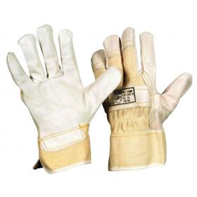 Handschuhe, Rindernarbenleder