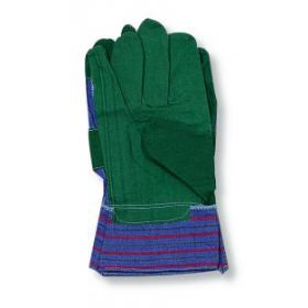 Handschuhe-Vinyl, grün