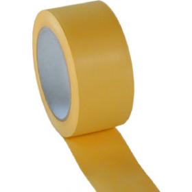 PVC-Klebeband gerillt, gelb