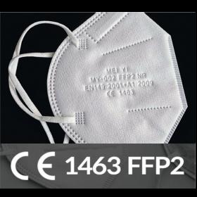 FFP2-Atemschutzmaske, 4-lagig, CE 1463